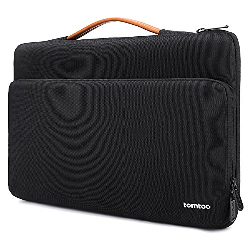 tomtoc 360 Protective Laptop Case for 15.6 inch Acer Aspire 5 Slim Laptop, 15.6 HP Pavilion, 15.6 Inch ASUS ROG Zephyrus, 2020 New Dell XPS 17, More Dell Asus ThinkPad 15 Inch Chromebook, Black