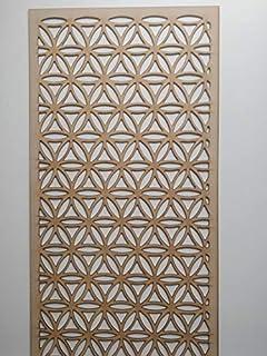 LaserKris - Mueble de Pared para radiador (Tablero DM Perforado, 4 x 2)