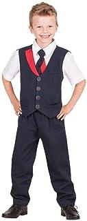 Qantas Flight Attendant Boys Costume Size 6-8