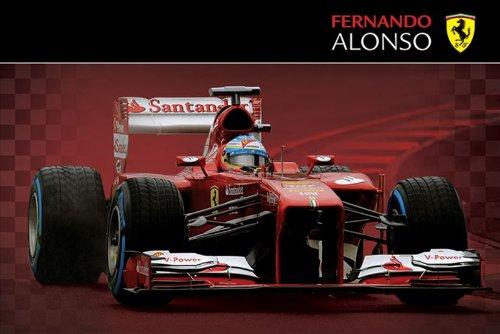 Grupo Erik Editores Ferrari (Alonso) Poster