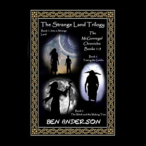 The Strange Land Trilogy audiobook cover art