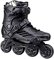 調整可能なインラインスケート専門の調節可能なサイズのインラインスケートスケートスケート靴のための男の子の女の子PUの点滅4ホイールローラースケート子供ローラースケートスニーカーブーツ (Color : B, Size : 265)