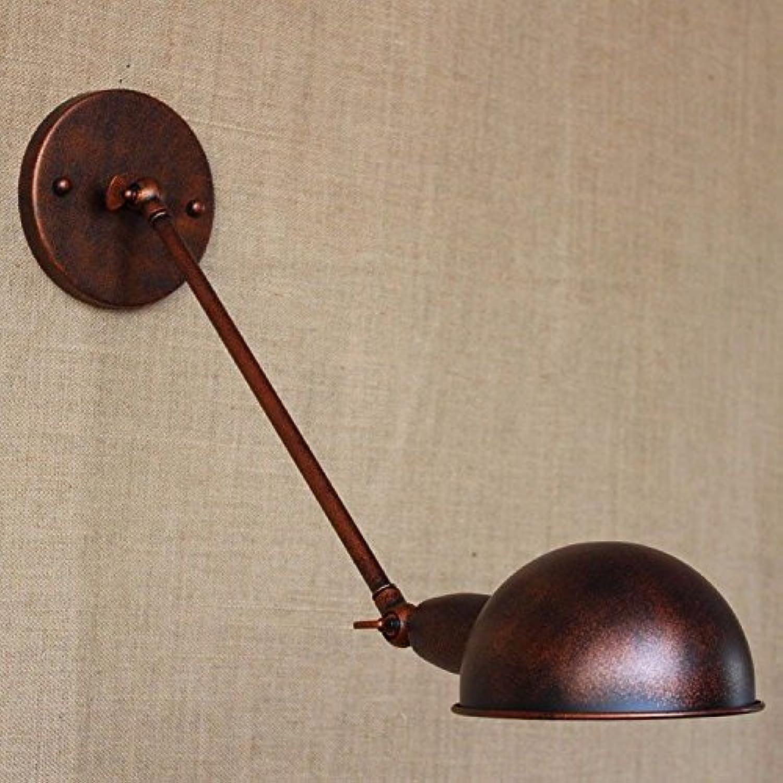 StiefelU LED Wandleuchte nach oben und unten Wandleuchten über dem Bett Retro, Schlafzimmer Schlafzimmer Wohnzimmer dekorative Beleuchtung Wandleuchten, Bronze