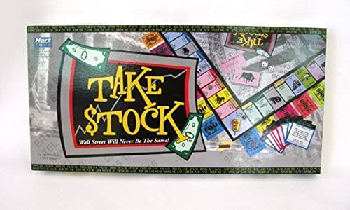 Hart Toys Take Stock Board Game Ages 8+ by Hart Toys