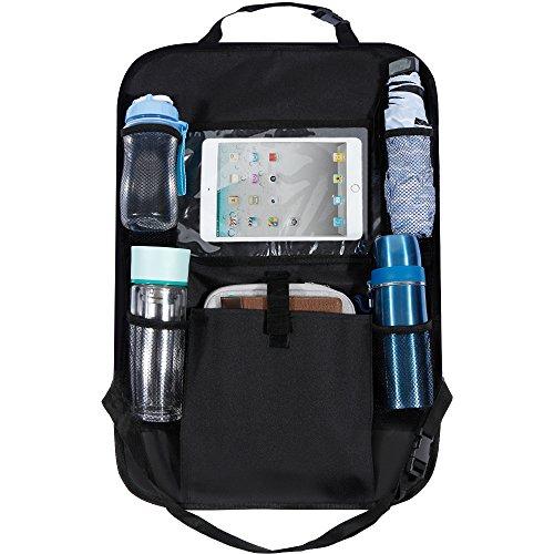 Rovtop Car Back Seat Organiser with Tablet Holder, Kick Mat, Multi-pocket...