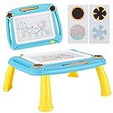 TTMOW Pizarras Magica Infantil Colorido con Pluma, Grande Color Magnético Doodle Sketch Pad para Niños Infantiles...