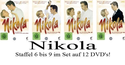 Nikola - Staffel 6+7+8+9 im Set [12 DVDs]
