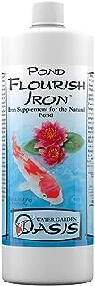 pond flourish iron