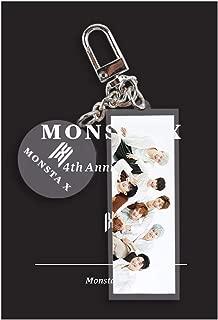 HomMall Cute Cartoon Kpop RedVelvet IKON Stray Kids Keychain Key Ring Hot Gift for Fans(Monsta X)
