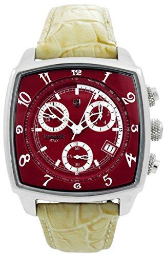 Lancaster Reloj analógico para Hombre de Cuarzo con Correa en Piel 0262RWE