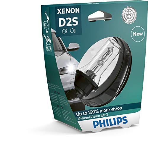 Philips 85122XV2S1 Xenon-Scheinwerferlampe X-tremeVision D2S Gen2, Einzelblister