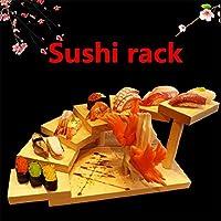 2020 春? 寿司皿 チーズ ボード シートまな板 刺身寿司セットプレートスクエアスイングプレート (35x18x10.5cm)