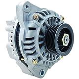 New Alternator Replacement For Honda Civic 1.7L DX LX EX VP D17 2001 2002 2003 2004 2005, Acura EL 1.7L 01-05 31100-PLM-C01, 31100-PLM-C02, AFGA51, 31100PLMC01, 31100PLMC02