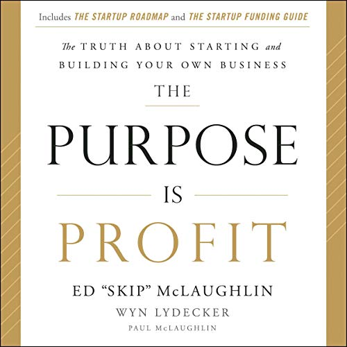 The Purpose Is Profit audiobook cover art