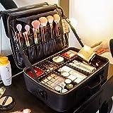 Xiniufsd Bolso de Cosméticos De Gran Capacidad Estuche de Maquillaje cosmético del Bolso de Professinal Viajes Mujeres (Color : XS Soft Pink)