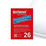 10 dustwave Staubsaugerbeutel für Samsung SC1200 Eco Wave, Samsung SC1400 Eco Wave, Samsung VP 77, Samsung SC 1400.05 Eco Wave, Samsung VC 5956 V Easy, Silva BS 20-260, Severin S'Power -...