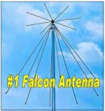 Professional Discone Antenna for Scanner and Shortwave Listening, and Transmitting on 144, 220, 440, 900 and 1290 Mhz Bands