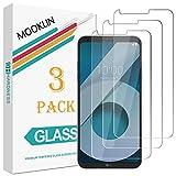 [Pack de 3] MOOKLIN Verre Trempé LG Q6, [ANTI RAYURES] Film Protection écran en Verre trempé pour LG Q6