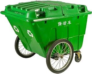 WOAINI Poubelle de Recyclage sur roulettes à Usage intensif Brute Rollout, Poubelle à roulettes TrashMaster avec Couvercle...