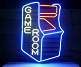 Cozyle GAME ROOM Leuchtreklame 17'x14' Real Glasrohr Neon Beleuchtung für Pin-au-Au-Fil...