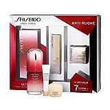 Shiseido Ultimune Set De Fortalecedor De La Piel, Crema De Ojos Anti-Arrugas, Anti-Ojeras Y Crema Super Revitalizante - 62 Ml