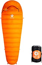 "Easthills Outdoors Bison 15 Degree 650 Down Ultra Lightweight 3 Season Mummy Sleeping Bag for Backpacking (Regular 82 x 30"" Long 87 X 32"")"