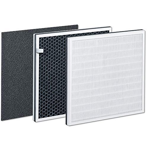 Beurer LR 310/LR 300 Filter Kit, Triple Layer Filter System, HEPA Filter H13, Activated Carbon Filter, Pre-Filter for Beurer Air Purifier LR 310 and LR 300