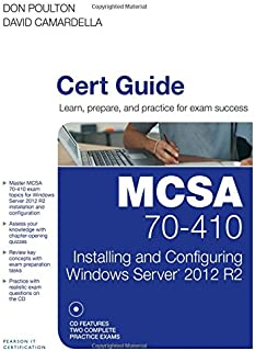 Best exam 410 installing and configuring windows server 2012 Reviews
