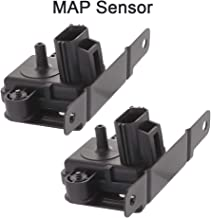 CTCAUTO 2PCS F8UZ-9F479-BA Manifold Absolute Pressure Sensor MAP Sensor Fits for 1998 Ford E-350 Econoline 1998-2002 Ford E-350 Econoline Club Wagon