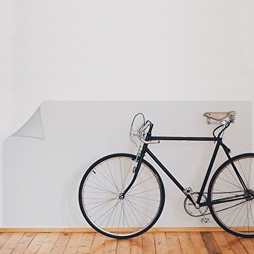 Rapid Teck® 9,51€/m² Wandschutzfolie - Glanz - 63cm Breite - Elefantenhaut - Klebefolie - Transparent/Klar - Folie - Selbstklebend