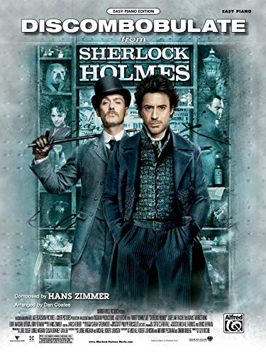 Discombobulate (from the motion picture Sherlock Holmes): Easy Piano, Sheet