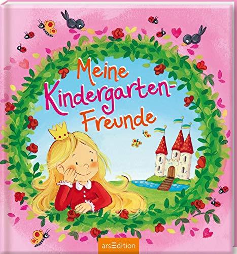 Meine Kindergarten-Freunde (Prinzessin): Freundebuch ab 3 Jahren für Kindergarten und Kita, für Jungen und Mädchen