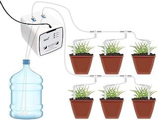 Irrigatiesysteem, intelligent automatische irrigatie met intelligente wifi-bediening, dubbel pompsysteem, druppelbewaterin...