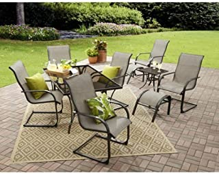 Amazon Com 10 Pieces Table Chair Sets Kitchen Dining Room