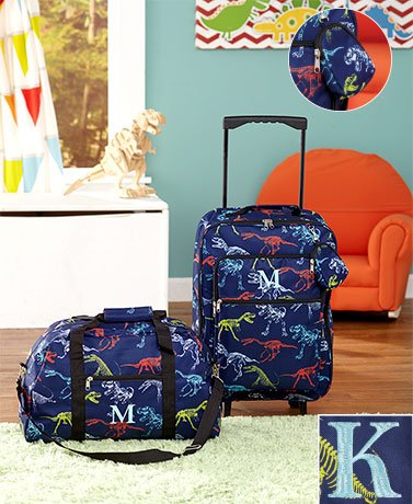 3-Pc. Boys' Monogram Luggage Sets ( K )