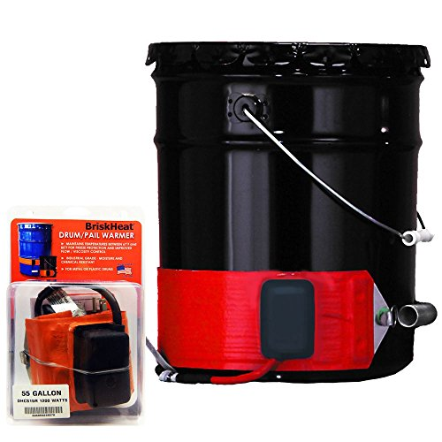 %11 OFF! BriskHeat DHCS13R Silicone Rubber Drum/Pail Warmer (DHCS-R), Cable
