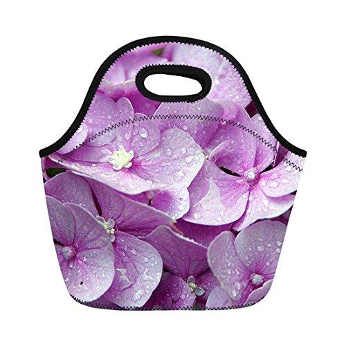 Chaqlin Floral isotherme en néoprène adultes Filles travail école Lunch Box Tote Sacs Taille M Floral-5