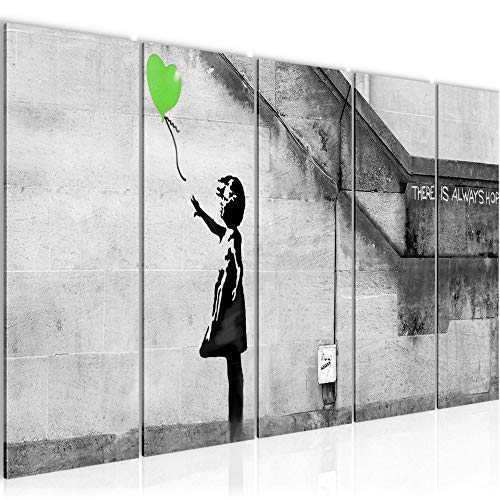 Quadro Banksy Palloncino Ragazza Stampa D'Arte Tela Non Tessuta Decorazione Murale Soggiorno Camera Da Letto 301656b