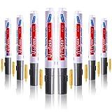 ABOAT Fugenstift, weißer Fugen-Reparatur-Marker mit Ersatzspitze, um das Aussehen von...
