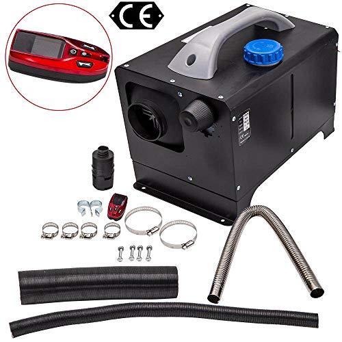 maXpeedingrods 8KW Calefacción de Diesel12V Ajustable, Calentador de Aire 10L Tanque Incorporado Control Remoto con Pantalla LCD, Calefacción Estacionaria para Coche Furgoneta Automóvil Camio