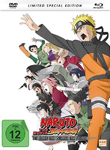 Naruto Shippuden - Die Erben des Willens des Feuers - The Movie 3 Mediabook [DVD + Blu-ray] [Special Edition]