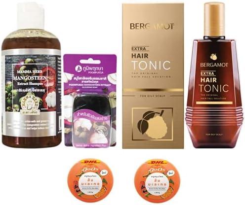 At the price Ranking TOP3 Bergamot Extra Set Mama Mangosteen Shampoo Peel 270ml wit Herbal