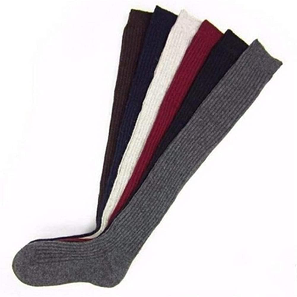 Soft Cable Knit Over Knee Socks,Long Boot Thigh High Autumn Winter Warm Socks For Girls Women Autumn Winter