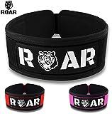 Roar® Cinturón Lumbar Gimnasio, Cinturon Gimnasio Hombre y Mujer, Cinturon...