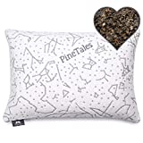 PineTales, Premium Organic Buckwheat Pillow with Washable Super Soft &...