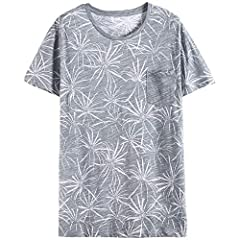 Style:Casual,Gender:Men,Sale by Pack:No Material:Cotton,Polyester,Fabric Type:Broadcloth, Type:Tees Brand Name:kangkangmei,Sleeve Style:normal,Collar:O-k Pattern Type:Patchwork,Item Type: Sleeve Length(cm):Short,Hooded:No
