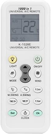 Weiye Air Conditioner t/él/écommande AC contr/ôle LCD Universel Conditioning Controller 1000/en 1/pour Mitsubishi Toshiba Hitachi Fujitsu Daewoo LG Sharp Samsung Electrolux Sanyo