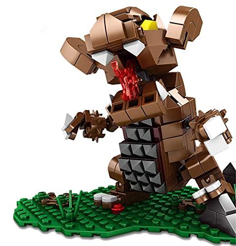 Block Toy Micro Blocks - Juego de minibloques de construcción de dibujos animados de Ultraman, minibloques de construcción, rompecabezas para niños, regalo