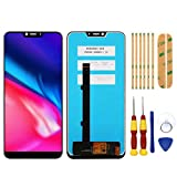 AiBaoQi 100% Original For Cubot P20 LCD&Touch Screen Digitizer with Frame Display Screen Module Repair Replacement Accessories Parts (Blue no Frame)