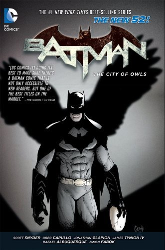 Batman Vol. 2: The City of Owls (The New 52) by Scott Snyder (March 26,2013)